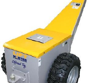 Off Road Tug Lifting Equipment Easy Roll Materials